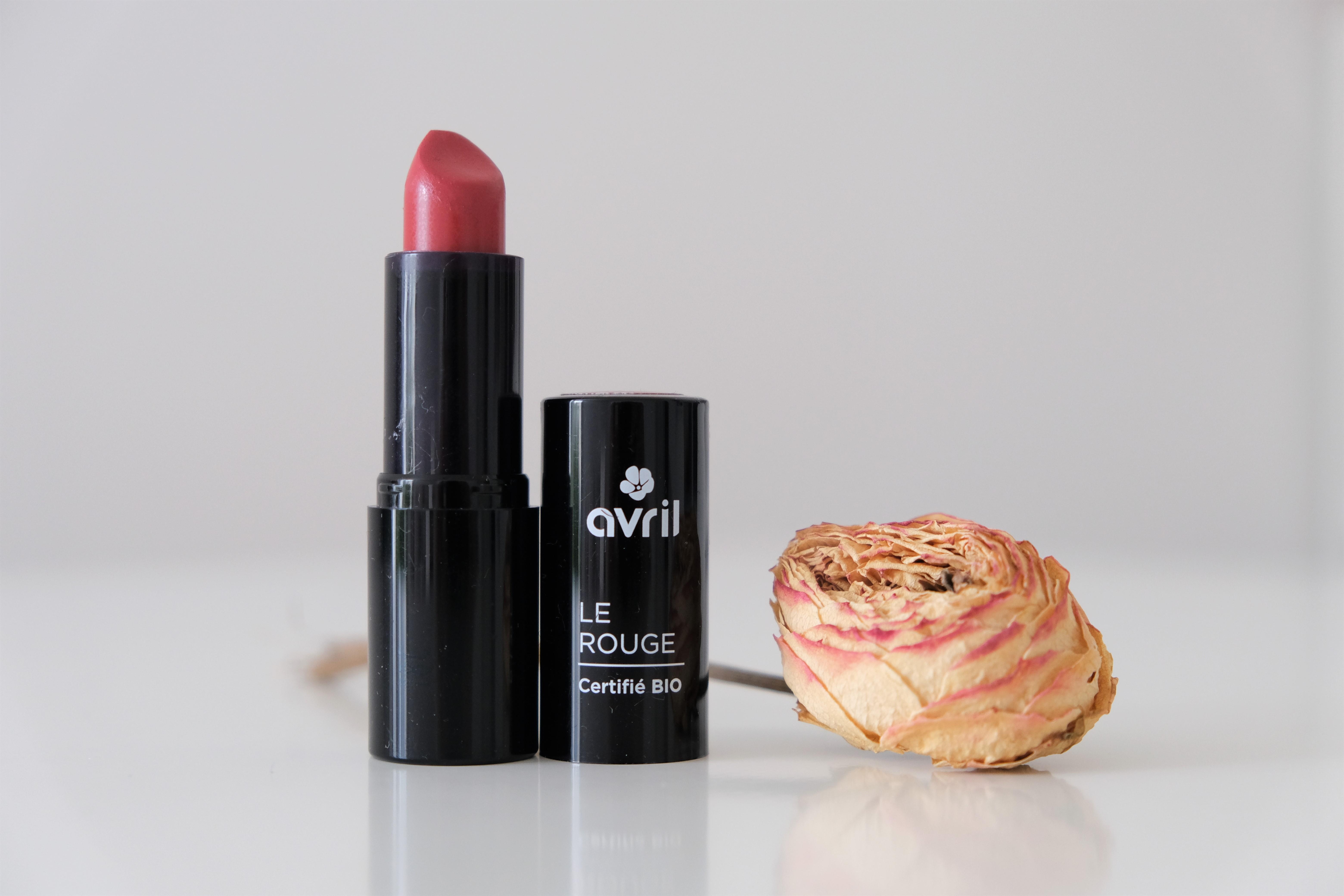 Maquillage bio & naturel : les jolis rouges d'Avril
